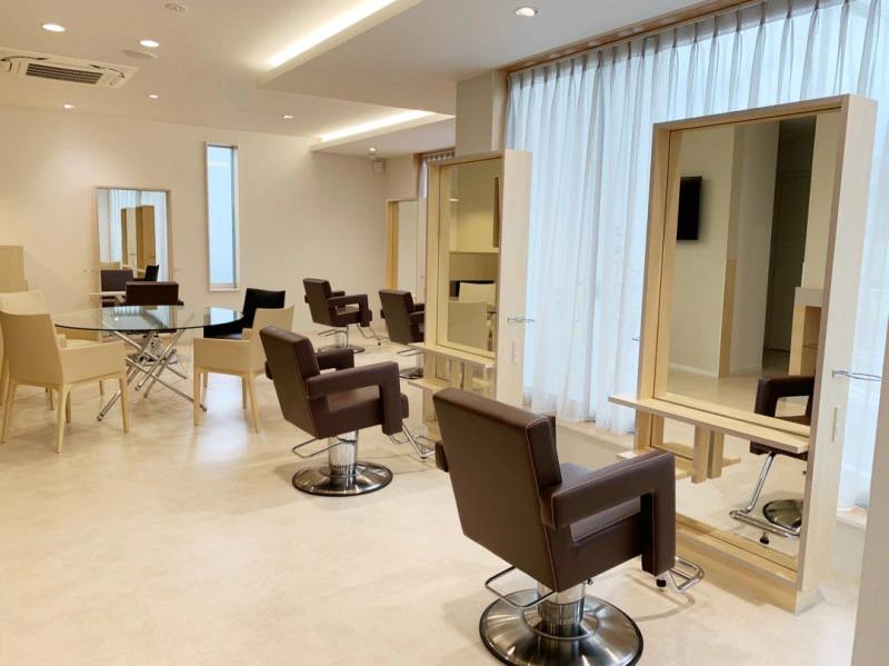 熊本市の美容室 ドルチェ 移転オープン フロア