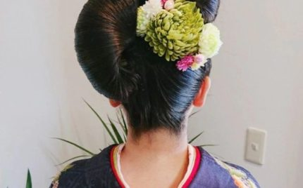 成人式 着付・セット・メイク 熊本市の美容室 ドルチェ